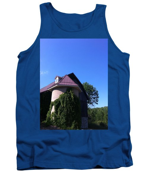 Tank Top featuring the photograph Vineyard by Tiffany Erdman