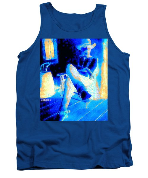 Tank Top featuring the photograph Waiting Up by Seth Weaver