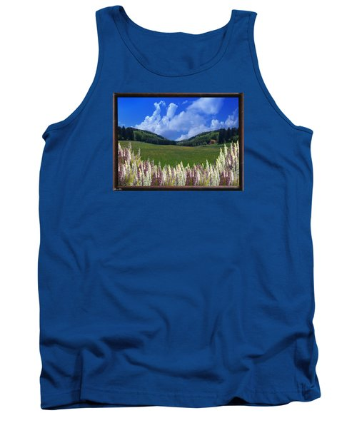 Tank Top featuring the photograph  A Beautiful View by Bernd Hau