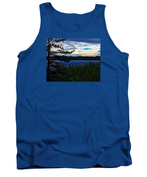 Tank Top featuring the photograph  Chrystal Blue Waters by B Wayne Mullins