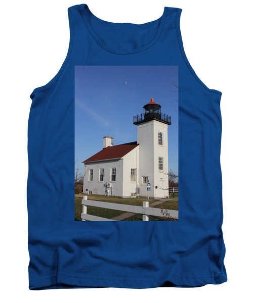 Sand Point Lighthouse Escanaba Tank Top