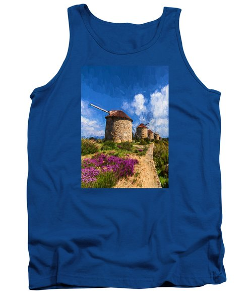 Windmills Of Portugal Tank Top