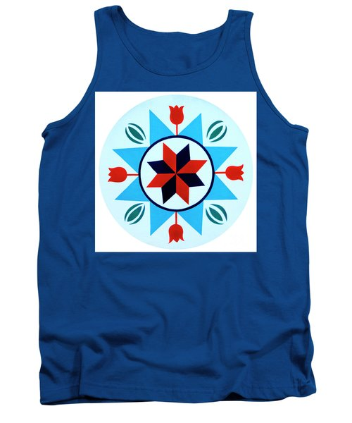 Tank Top featuring the photograph Amish Hex Design by Paul W Faust - Impressions of Light