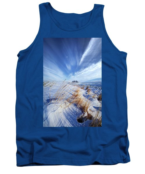 Tank Top featuring the photograph Azure by Phil Koch