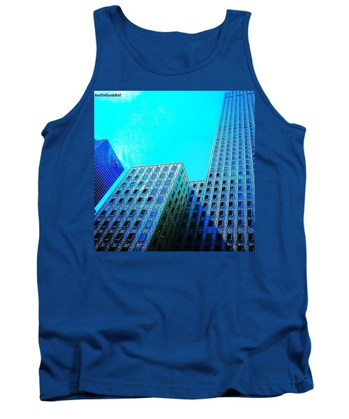 #blue #buildings And #bluesky On A Tank Top
