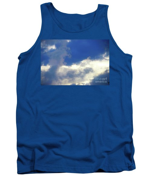 Blue Tank Top by Jesse Ciazza