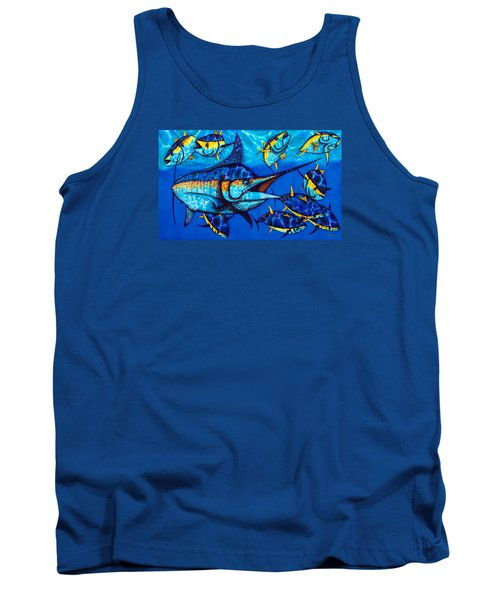 Blue Marlin Tank Top
