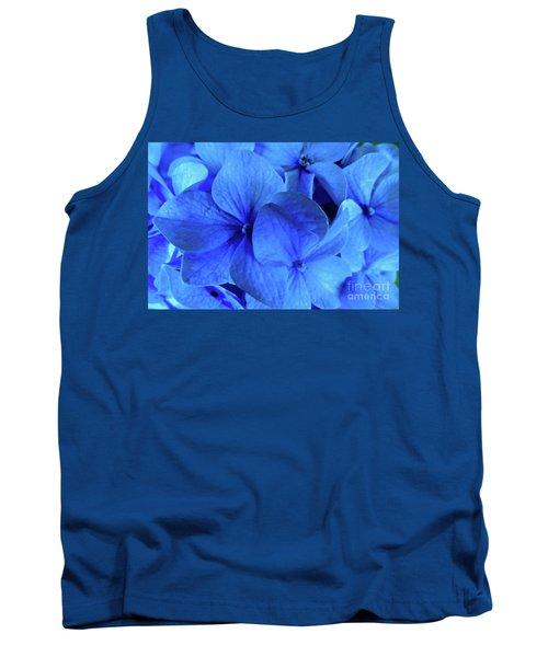 Blue Tank Top by Nancy Patterson