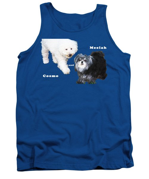 Cosmo And Meelah 1 Tank Top by Terry Wallace