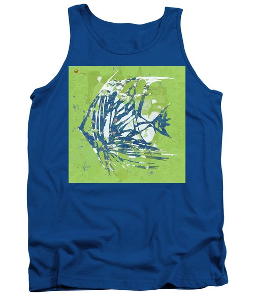 Fish - Pop Art  Poster Tank Top
