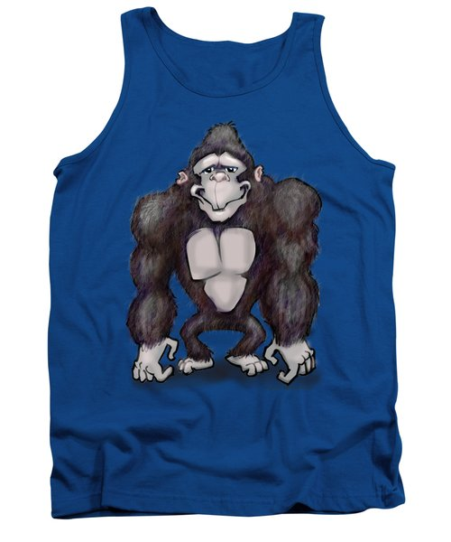 Gorilla Tank Top by Kevin Middleton