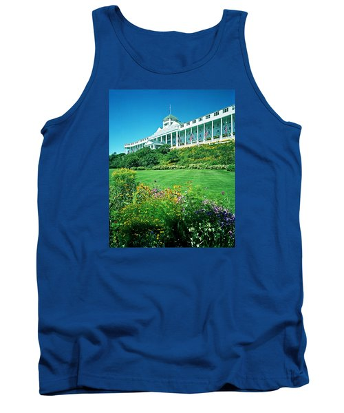 Grand Hotel From Tea Garden Tank Top