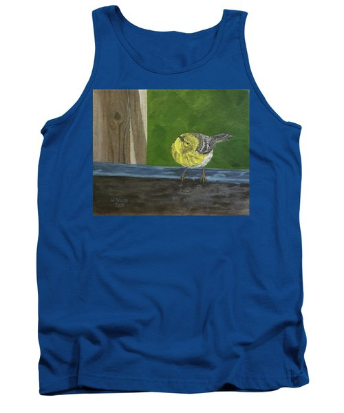 Hello Tank Top by Wendy Shoults