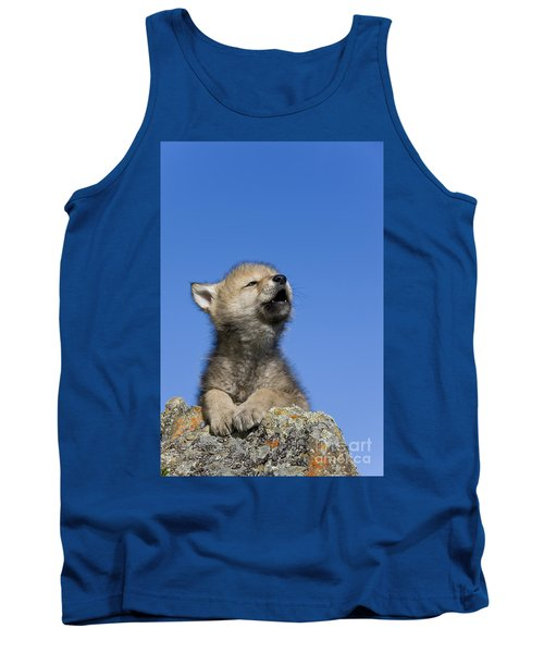 Howling Wolf Cub Tank Top