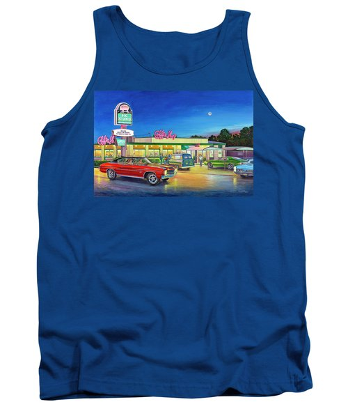 Muscle Car Cruise Night Tank Top