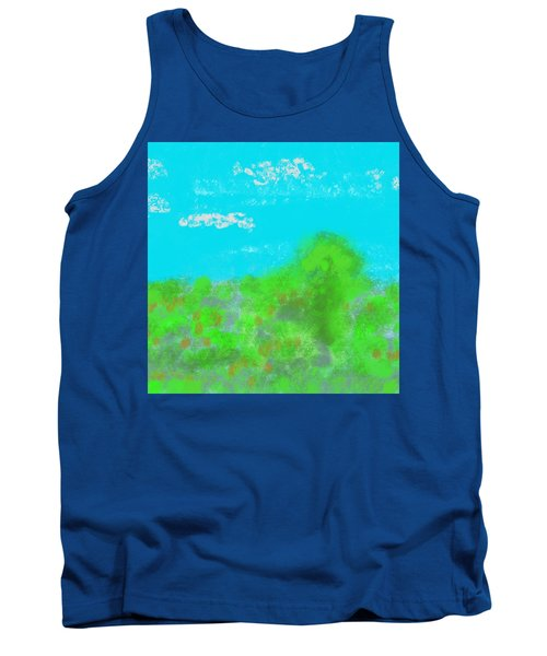 Landscapes Of The Past Tank Top