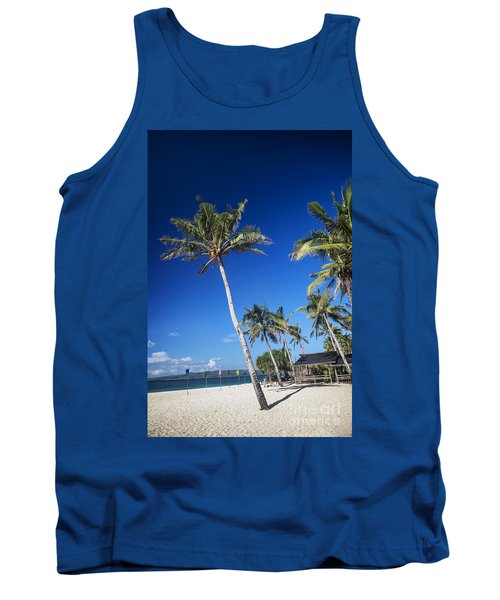 Puka Beach In Tropical Paradise Boracay Philippines Tank Top