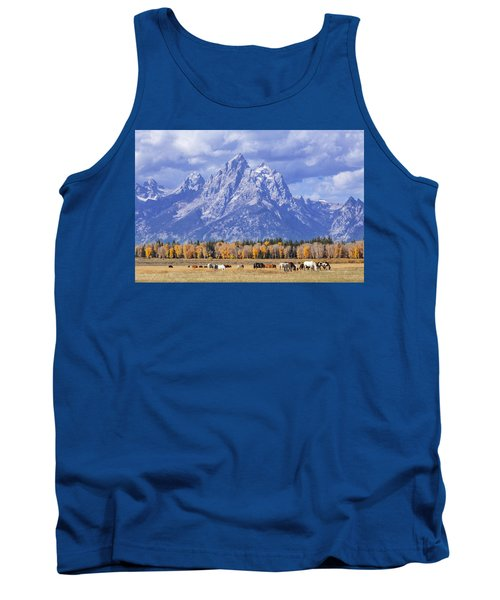 Purple Mountains Majesty Tank Top