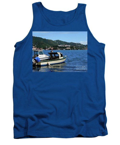 Tank Top featuring the photograph Ready To Go by Gary Wonning
