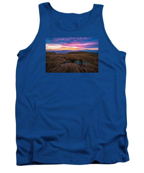 Tank Top featuring the photograph Roan Mountain Sunrise by Serge Skiba