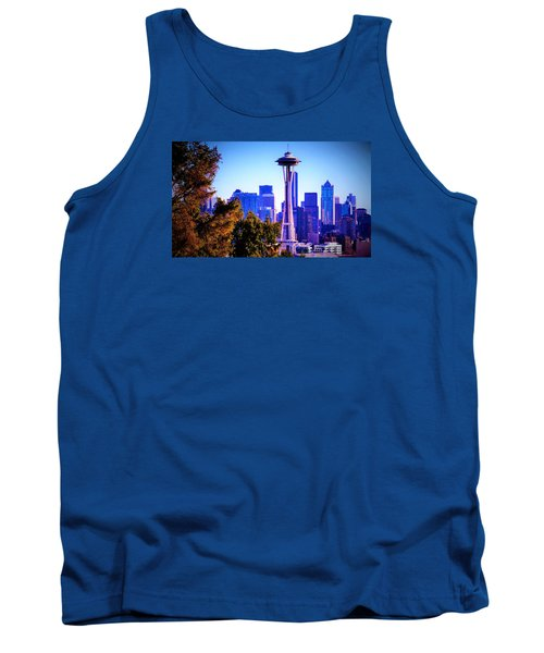 Seattle Afternoon Tank Top by Martin Cline