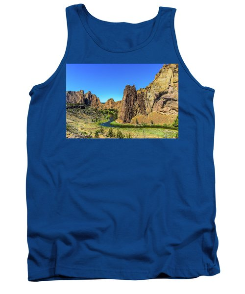 Tank Top featuring the photograph Smith Rock by Jonny D