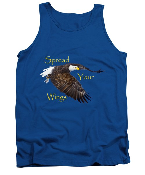 Tank Top featuring the photograph Spread Your Wings by Greg Norrell