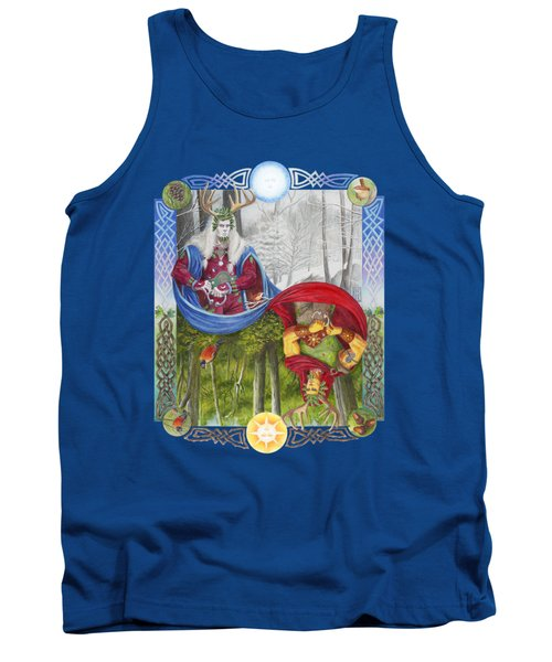 The Holly King And The Oak King Tank Top