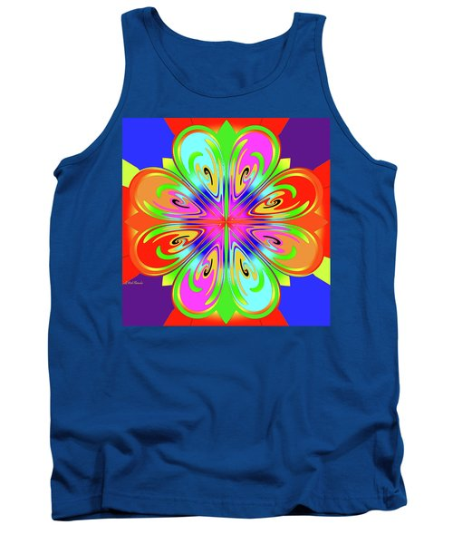 Tribute To Peter Max Tank Top