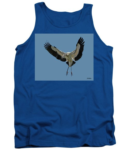 Wood Stork Tank Top