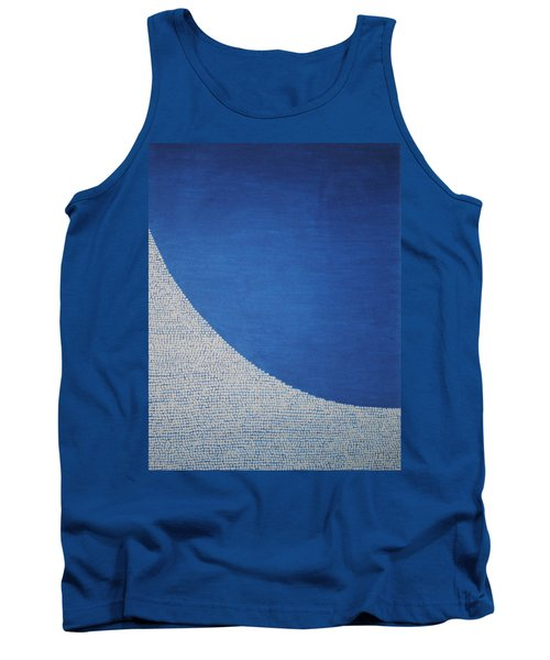 Tank Top featuring the painting Perfect Existence by Kyung Hee Hogg