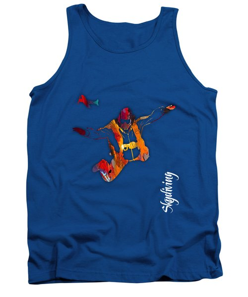 Skydiving Collection Tank Top by Marvin Blaine