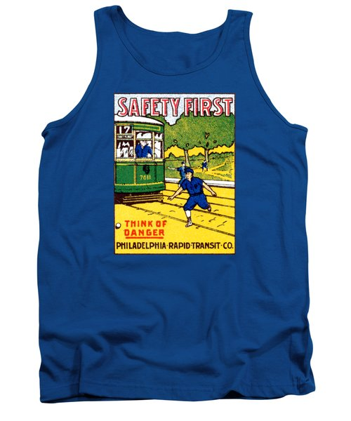 1915 Safety First In Philadelphia Tank Top