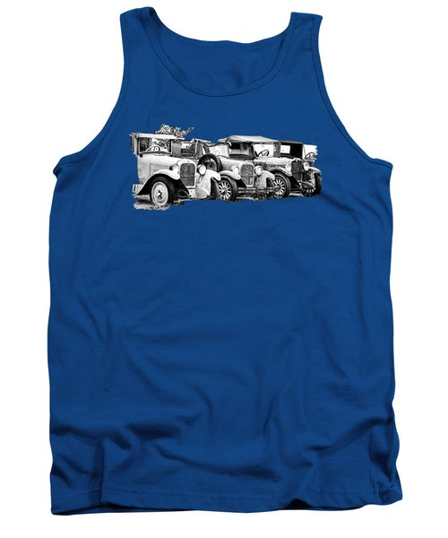 1920s Vintage Cars Tank Top