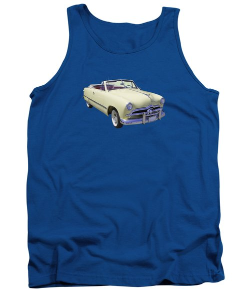 1949 Ford Custom Deluxe Convertible Tank Top