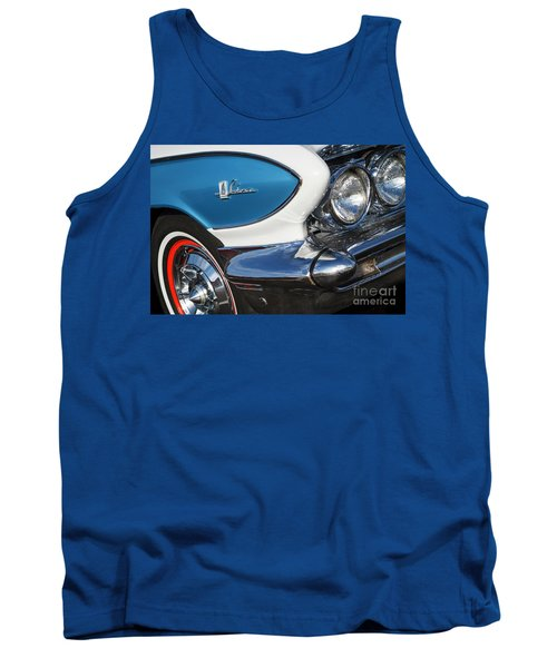 Tank Top featuring the photograph 1961 Buick Le Sabre by Dennis Hedberg