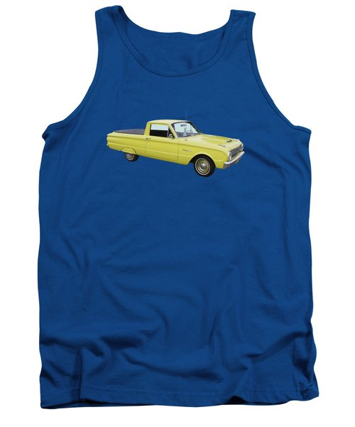1962 Ford Falcon Pickup Truck Tank Top by Keith Webber Jr