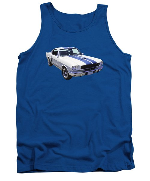 1965 Gt350 Mustang Muscle Car Tank Top