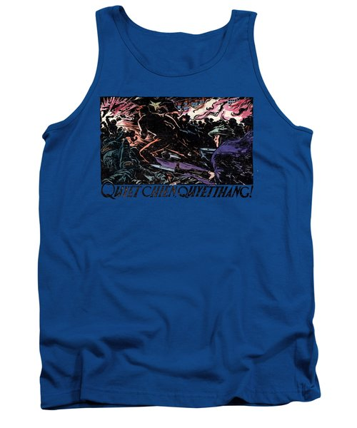 Tank Top featuring the painting 1968 North Vietnamese Propaganda by Historic Image