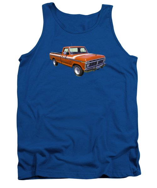 1975 Ford F100 Explorer Pickup Truck Tank Top by Keith Webber Jr