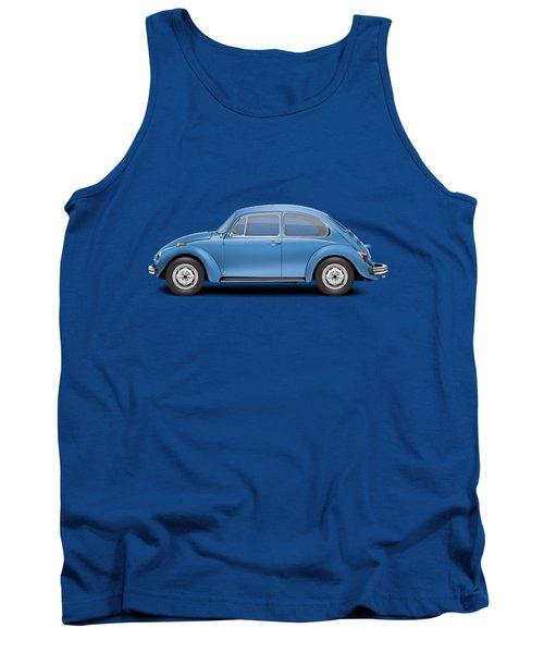 1975 Volkswagen Super Beetle - Ancona Blue Metallic Tank Top