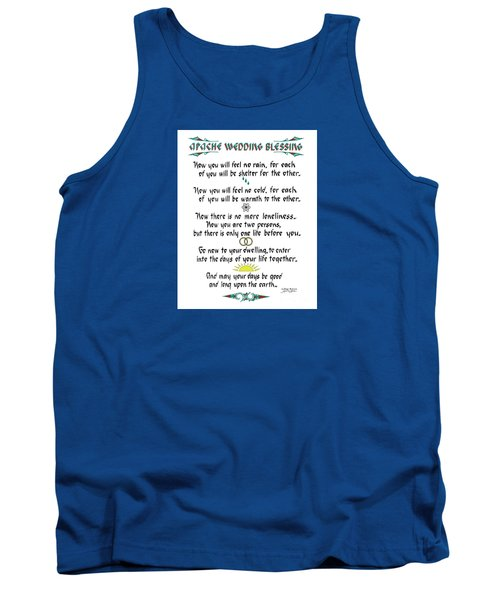 Apache Wedding Blessing Tank Top
