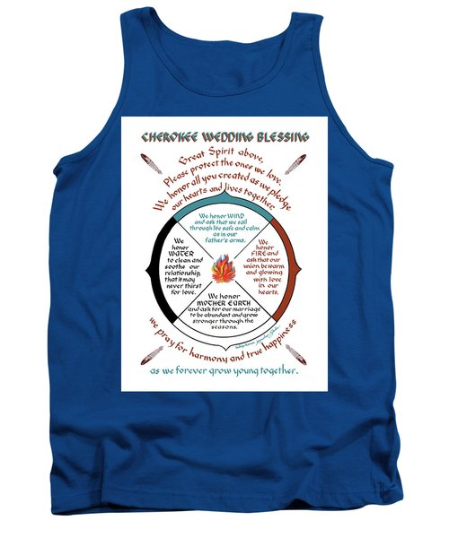 Cherokee Wedding Blessing Tank Top