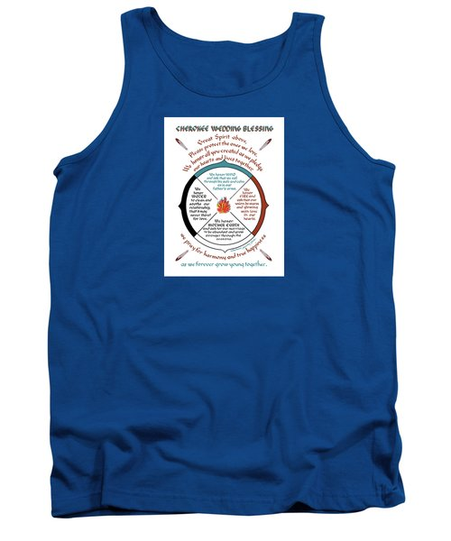 Cherokee Wedding Blessing Tank Top
