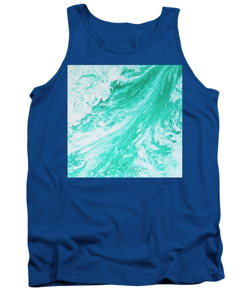Crystal Wave 5 Tank Top