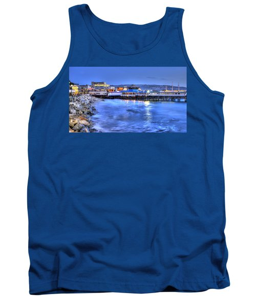 Redondo Landing At Night Tank Top