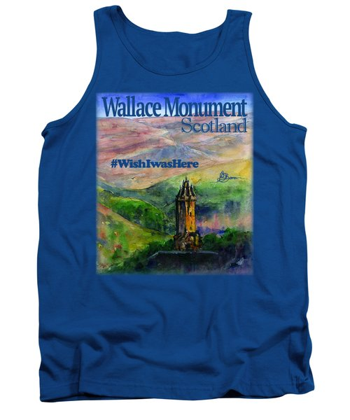 Wallace Monument Scotland Tank Top