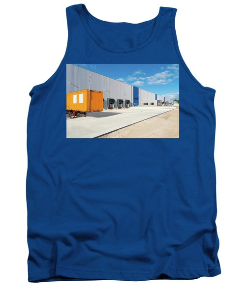 Warehouse Exterior Tank Top by Hans Engbers