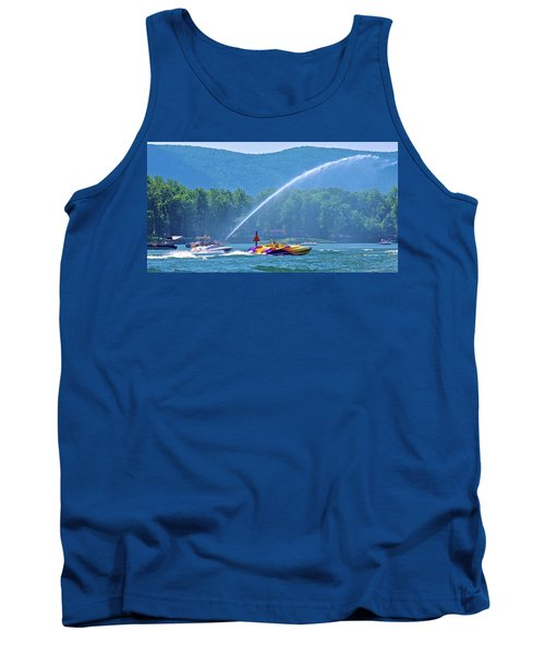 2017 Poker Run, Smith Mountain Lake, Virginia Tank Top