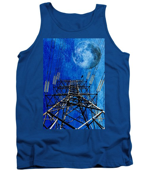 Electric Power Transmission... Tank Top by Werner Lehmann